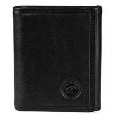 porte monnaie porte carte crédit bancaire à bouton portefeuille carré femme homme en cuir de vachette véritable Nogent-sur-marne