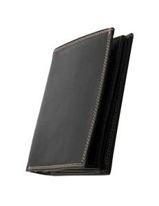 GC106 - Grand Classique Portefeuille Homme Porte Carte Crédit Visite Monnaie en Cuir Synthétique